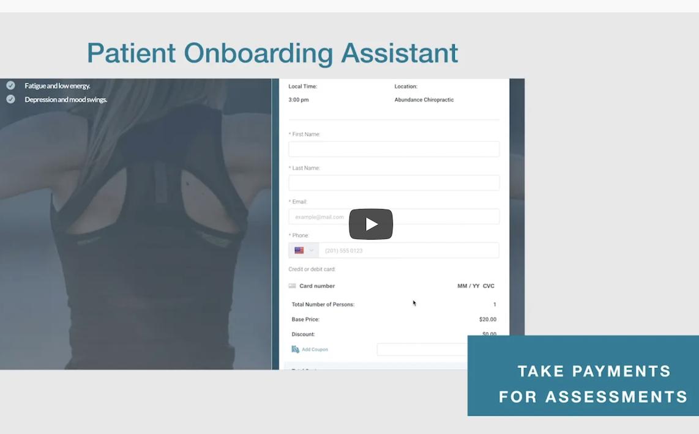 Patient onboarding video